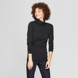 A New Day Long Sleeve Fitted Turtleneck